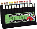 Copic Sketch Sketch Wallet Manga Set A