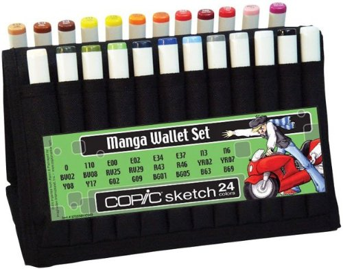 Copic Sketch Sketch Wallet Manga Set A