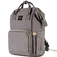 """√ Package Included Diaper Bag*1 √ Friendly Customer Service Always here to help, feel free to email or call with any questions or concerns. √ 100% Money Back Guarantee BUY with Full confidence & """"Peace Of Mind"""", if you're not 100% satisfi..."""
