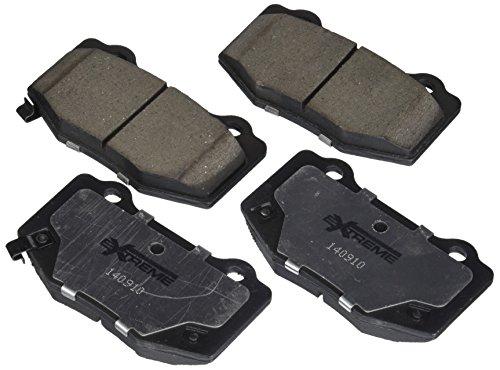 Power Stop Z26 1718 Z26 Extreme Performance Carbon Ceramic Rear Brake Pad Set