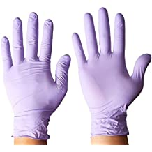 Power Free Protection Plus Nitrile Industrial Gloves 100% SYNTHETIC-Mechanics, Maintenance, Industrial & Food Service 100 Gloves (XS)