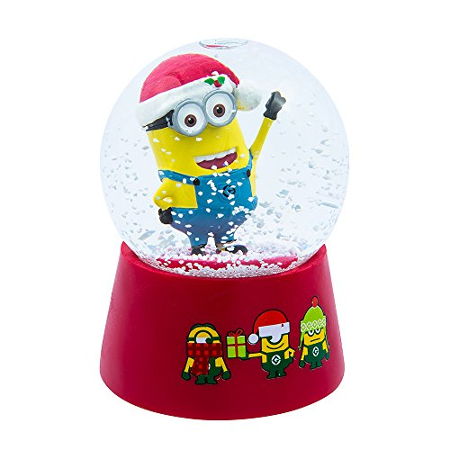 Kurt Adler Despicable Me Musical Water Globe, 100mm