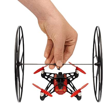 Parrot MiniDrone Rolling Spider - Red: Camera & Photo