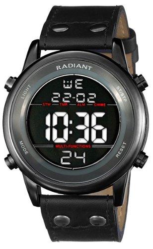 Radiant new code reloj para Hombre Digital de Cuarzo con brazalete de Piel de vaca RA116603: Amazon.es: Relojes