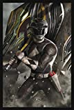 "Power Rangers Limited Edition Lithograph 16"" x 24"" ""Black Ranger"" by Carlos Dattoli"