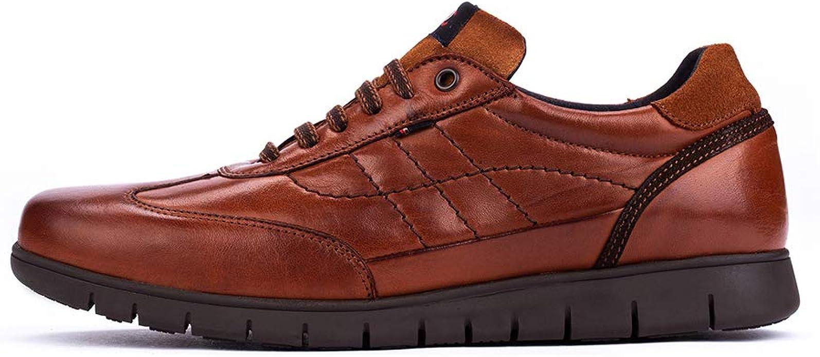 DCalderoni Ordesa Cuero Zapatos De Piel Hombre Casuales con Cordones 40 50 EU