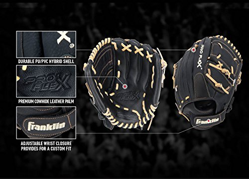 Franklin Sports Pro Flex Hybrid Series Baseball Gloves