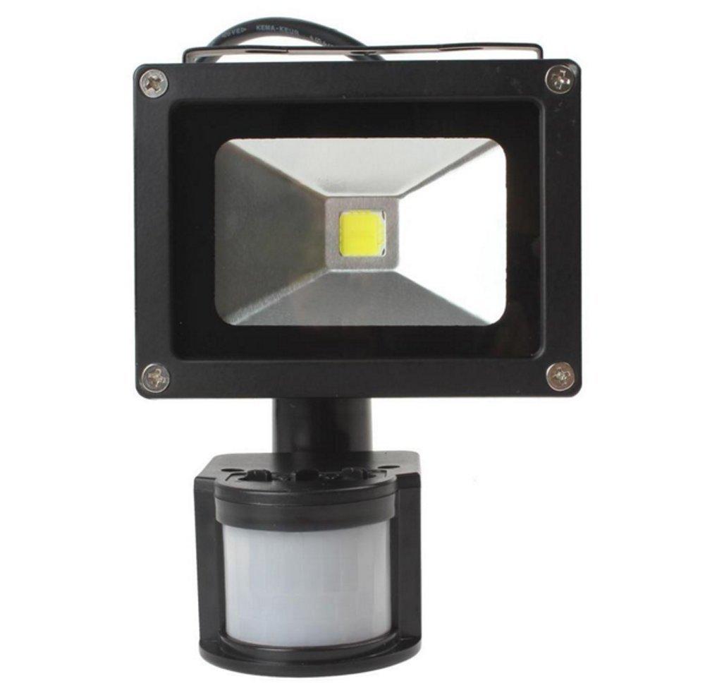 30W Foco con Sensor de Movimiento,3000K Blanco Calido Foco LED Exterior con Sensor Movimiento,Impermeable IP65 para Iluminación de Exterior y Seguridad: ...