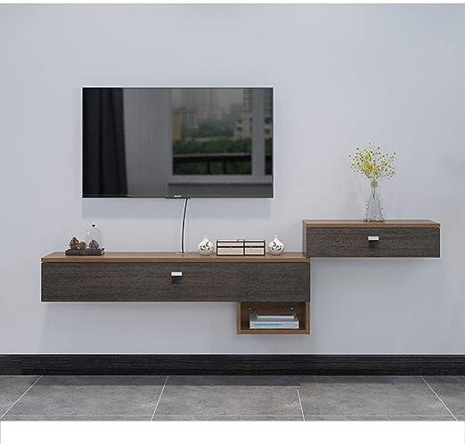 Estante Soporte de TV flotante Consola de TV montada en la pared ...