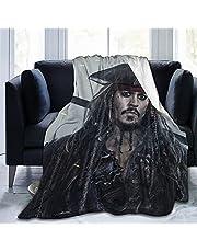 Pirates Of The Caribbean Gooi Deken Glad Zachte Deken voor Kid Baby Sofa Stoel Bed Kantoor Reizen Camping Vrouwen Gift