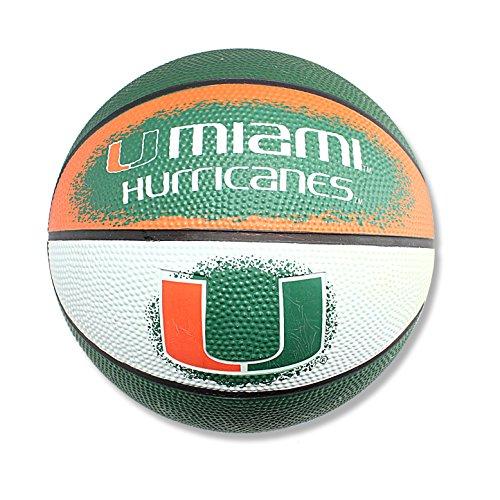 Miami Hurricanes Basketball - NCAA Miami Hurricanes Mini Basketball, 7-Inches