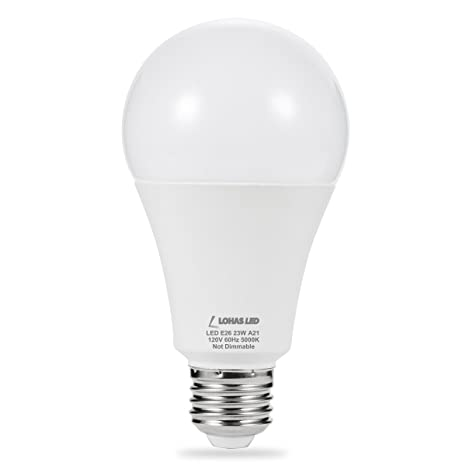 Lohas led bulb 150w 200w light bulbs equivalent 23w a21 led bulbs