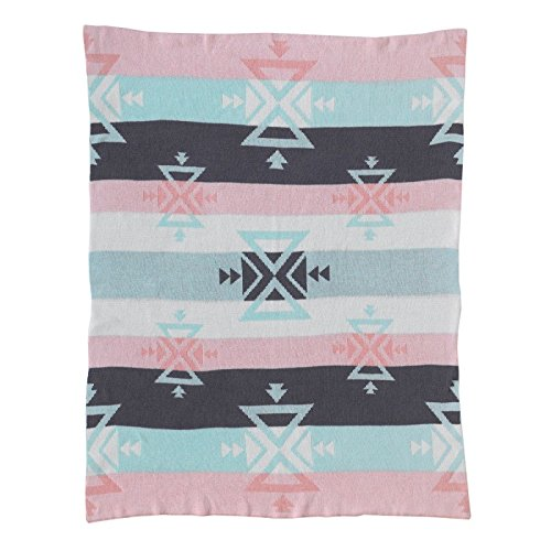 Sparrow Stroller Blanket (Lolli Living Sparrow Knitted Cotton Baby Blanket - Aztec)