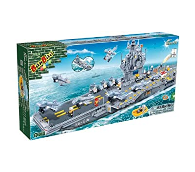 BanBao Aircraft Carrier Toy Building Set, 2580-Piece