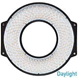 F & V R300 SE Daylight LED Ring Light with Lens Mount and Case