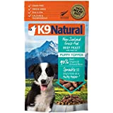 K9 Natural Freeze Dried Puppy Food Topper - Perfect Grain Free, Healthy, Hypoallergenic Limited Ingredients All Puppys - Raw, Freeze Dried Mixer - Beef & Hoki Oil Topper (Beef Hoki, 5oz)