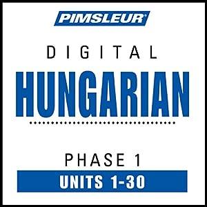 Hungarian Phase 1, Units 1-30 Speech