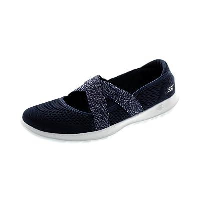 a3c8b7fae5fb3 Skechers Shoes - Slipper Go Walk Lite Cutesy 15407 Navy White:  Amazon.co.uk: Shoes & Bags