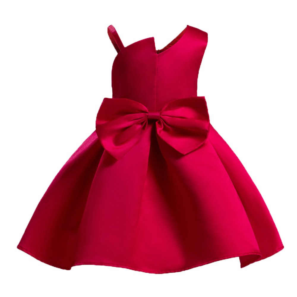 LZH Baby Girls Dress Ball Gown Party Wedding Flower Princess Dresses