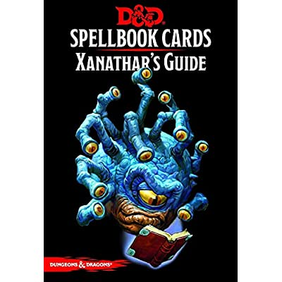 Dungeons & Dragons - Spellbook Cards: Xanathar's Guide to Everything (95 cards): Toys & Games