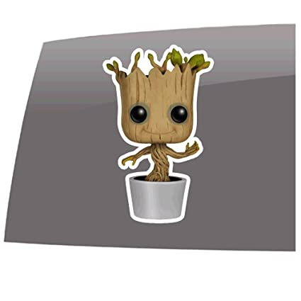 Window Swag Baby Groot Flower Pot Color Decal Guardians Of The Galaxy Inspired Vinyl Sticker