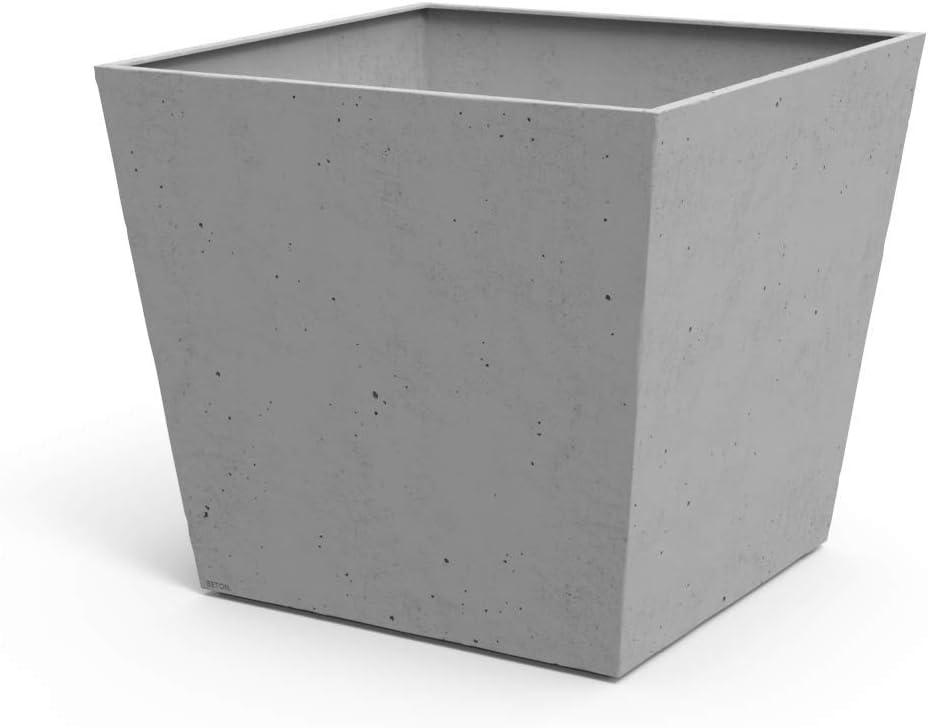 Keter Beton Maceta base cuadrada, 73.5 l