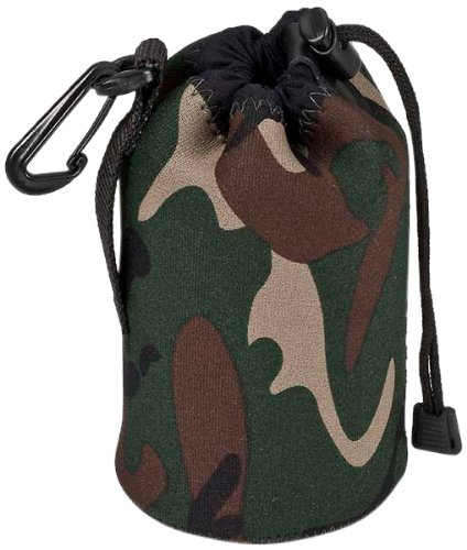 LensCoat LCLPMWFG LensPouch Medium Wide (Forest Green Camo)