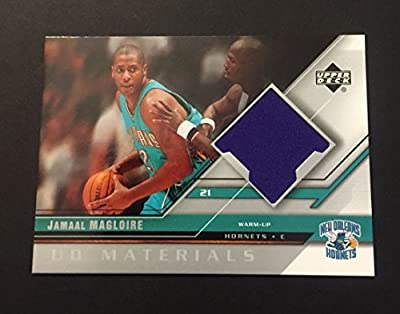 Jamaal Magloire Hornets Kentucky 2005 Upper Deck Warm Up Jersey Certified JN15