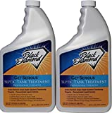 GET SERIOUS Septic Tank Treatment Liquid Natural Enzymes For Residential, Commercial, Industrial, RV's Systems. (2, quart)