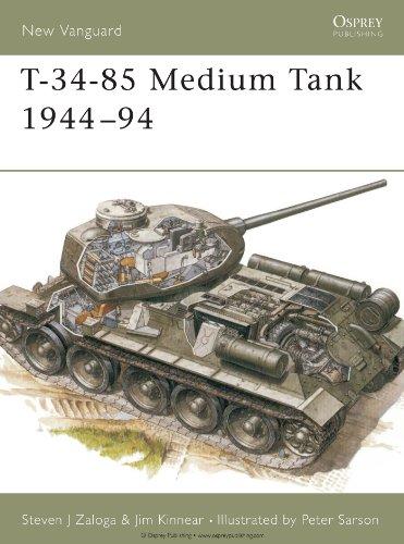 T-34-85 Medium Tank 1944–94 (New Vanguard)
