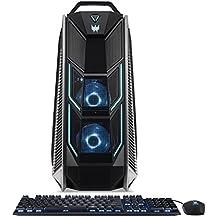 Acer Predator Orion 9000 PO9-900-I9KHCFF1080Ti2 Desktop, Intel Extreme i9-7980XE 18-Core, Liquid-Cooled, Dual NVIDIA Geforce GTX 1080 Ti 11GB in SLI, 128GB DDR4 RAM, 512GB SSD, 2TB, Win 10, VR Ready