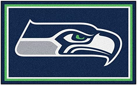 Fanmats Seattle Seahawks 4×6 Rug