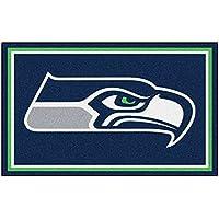 Fanmats NFL Seattle Seahawks Nylon Face 4X6 Plush Rug