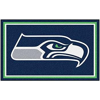 Amazon Com Seattle Seahawks Nfl Team Home Field Area Rug