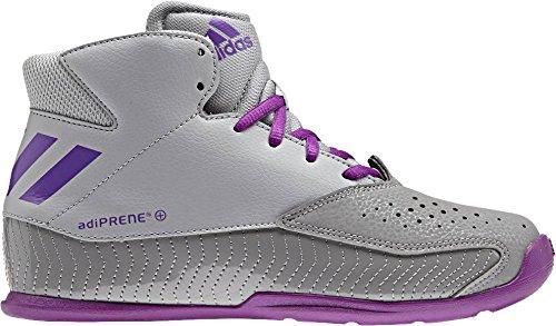 Adidas Nxt Lvl Spd V K, Chaussures de Basketball Mixte Enfant, Gris (Grpulg/Pursho/Grpumg), 29 EU