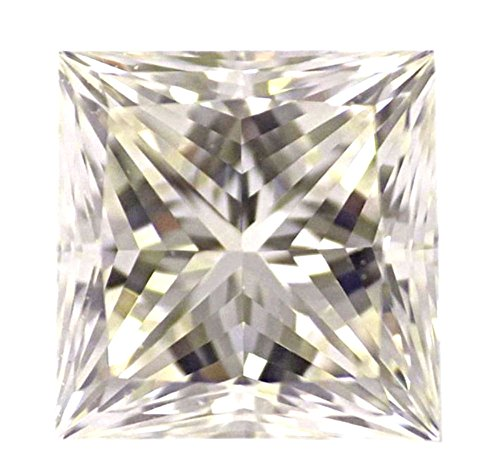 0.73 CT Loose Natural Diamond M VVS2 Princess Brilliant Cut GIA Certified MAX FIRE