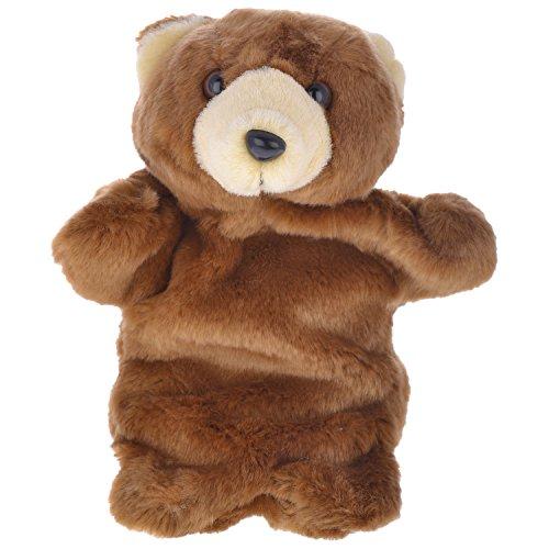 Twisha Hand Puppets Bear Brown 10 X 7 X 3 Inch