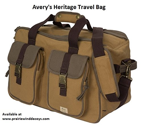 Avery Outdoors Inc 67235 Heritage Travel Bag One Size by Avery Outdoors