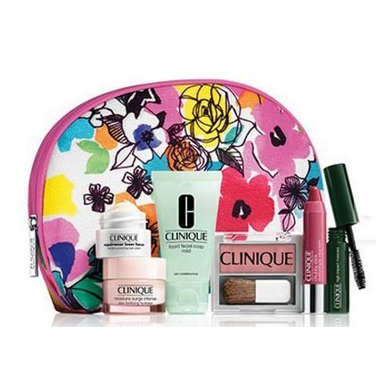 New 2015 Clinique Skin Care Makeup 7 Pc Gift Set