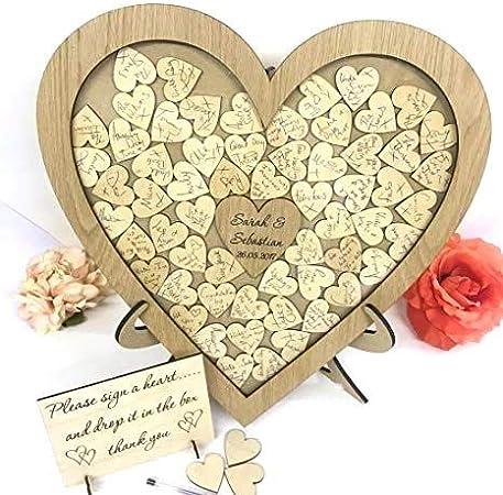 Personnalisé de cartes et cadeaux de table de Mariage Signe Effet Doré