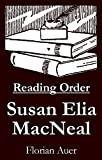 #6: Susan Elia MacNeal - Reading Order Book - Complete Series Companion Checklist
