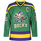 MOLPE Conway 96 Ducks Jersey S-XXXL Green, 90S Hip Hop Clothing for Party, Stitched Letters and Numbers