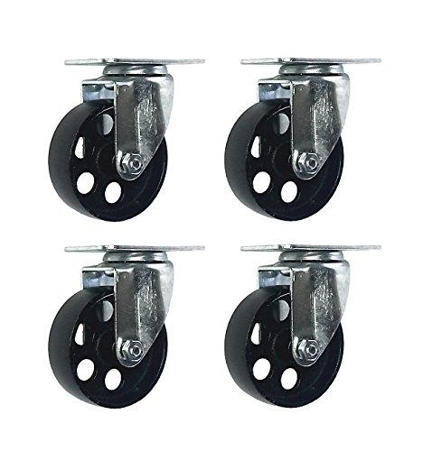 metal caster wheels - 3