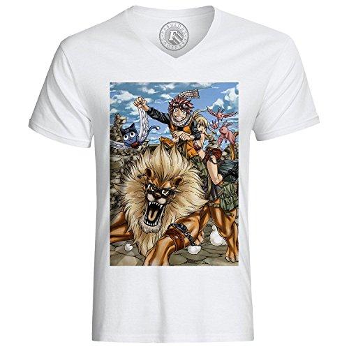 T-Shirt fairy tail natsu dragneel Löwe