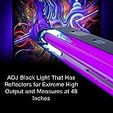 ADJ Products Blacklight Bulb, Black, 48 inch