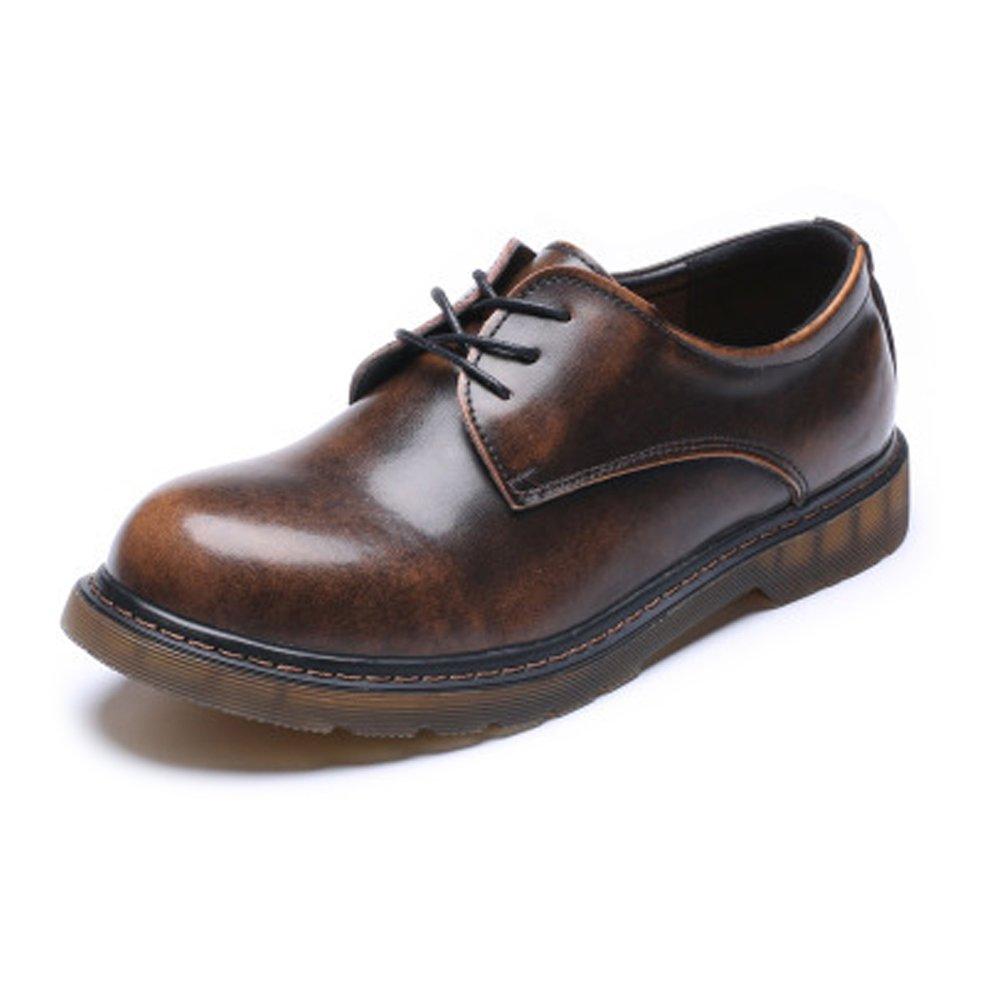 Fenghezhanouzhou Schuhe Herren Männer Loafer Schuhe aus echtem Leder Low Top Ankle Stiefel große Kinder Größe verfügbar Gemütlich    Louis, ausführlich
