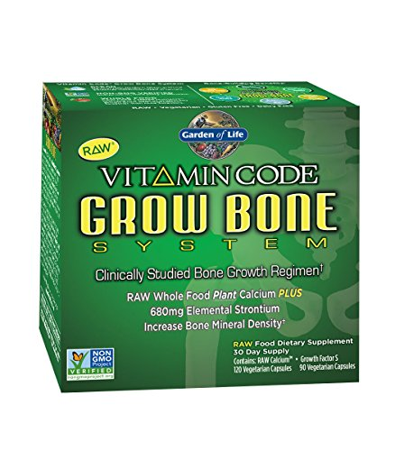 Garden of Life code vitamine pousser Bone System Supply 30 jours