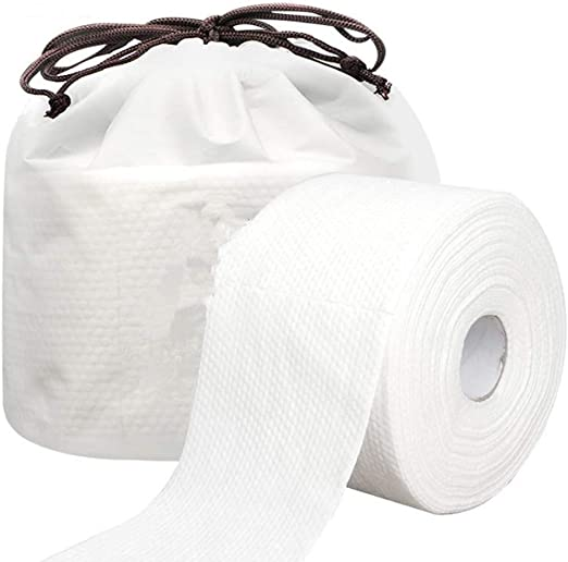 HBBOOI 1 Hojas rollo de toallas desechables for el lavado de la ...