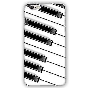 Grand Piano Keys Keyboard iPhone 6 Slim Phone Case by lolosakes