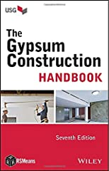 The tried-and-true Gypsum Construction Handbook is a systematic guide to selecting and using gypsum drywall, veneer plaster, tile backers, ceilings, and conventional plaster building materials. A widely respected training text for aspiring ar...